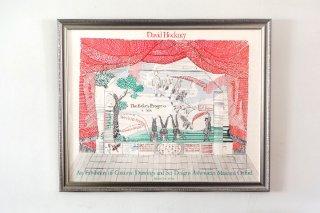 "David Hockney / An Exhibit Of ""Costumes, Drawings & Set Designs"" Ashmolean Museum Oxford  1981"