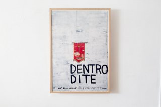 Julian Schnabel  /『Dentro Dite』Galleria Sperone 1988