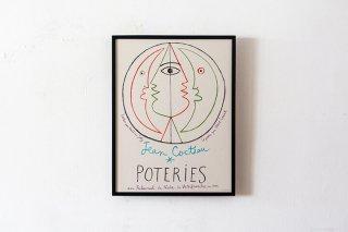 """Jean Cocteau - 1958 - Villefranche """"Poteries"""""""
