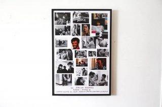 Jean Luc Godard - agnès b. Exhibition Poster