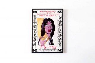 Andy Warhol /   Mick Jagger Poster