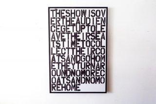 Christopher Wool & Felix Gonzalez-Torres / Untitled 1993