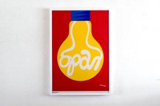 Per Arnoldi / Save Energy Campaign Original Vintage Poster 1978