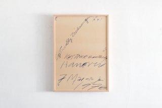 Cy Twombly  / Kestner Gesellechaft  -1976-