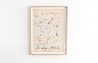 Jean Cocteau / Musée des Arts Decoratifs - 1954 -
