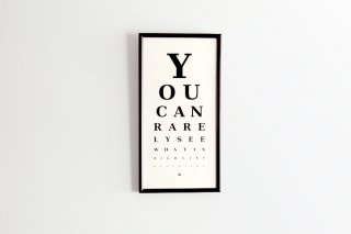 Rarely Eye Chart