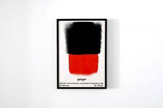 Rupprecht Geiger / Galerie Renata Boukes,Wiesbaden 1963