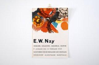 Ernst Wilhelm Nay / Kunstverein für die Rheinlande und Westfalen Düsseldorf 1959