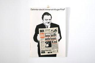 Klaus staeck / Dahinter steckt immer ein kluger Kopf - 1972 -