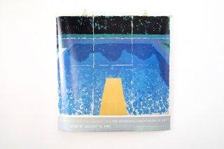 "David Hockney / ""A RETROSPECTIVE"" THE MTROPOLITAN MUSEUM 1988"