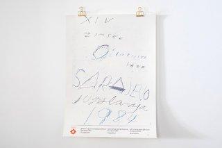 Cy Twombly / Sarajevo Winter Olympics 1984