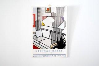 """Roy Lichtenstein  """"Strange Hotel"""""""