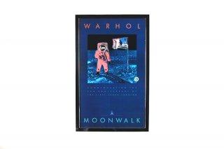Andy Warhol �MOONWALK�  Original Vintage Poster 1989