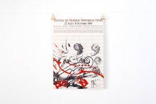 Arman / Festival de Musique Montreux Vevey - 1985 -