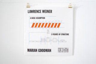 <img class='new_mark_img1' src='https://img.shop-pro.jp/img/new/icons14.gif' style='border:none;display:inline;margin:0px;padding:0px;width:auto;' />Lawrence Weiner / Goodman Gallery - 1999 -