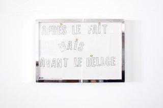 """Lawrence Weiner  / """"Après le Fait"""""""