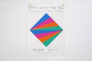 Max Bill /  Galerie Krebs Bern - 1990 -