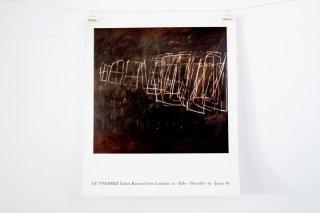Cy Twombly / Galerie Karsten Greve, Cologne 1980