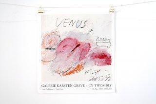 Cy Twombly / Galerie Karsten Greve, Paris 2013