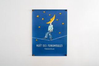 Raymond Savignac / Nuit des Funambules Trouville. 1985
