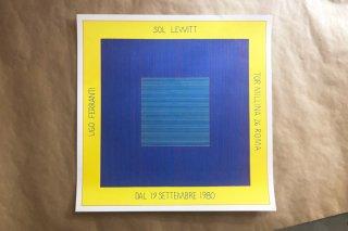 Sol LeWitt / Galleria UGO FERRANTI ROMA 1980