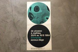 Joan Miró / avionpuits esneux-liége 1964