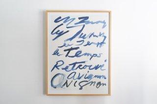 """Cy Twombly """"Le temps retrouvé"""" Avignon 2011"""