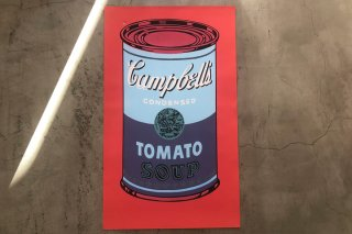 Andy Warhol / Campbell's Soup Can, 1965