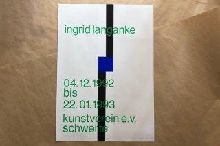 Ingrid Langanke / Kunstverein Schwerte 1992
