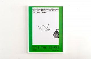 David Shrigley / If you don't like freedom you can always go back in your cage