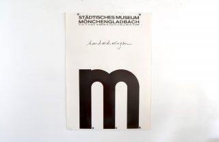 Heinz Mack / Städtisches Museum Mönchengladbach 1974