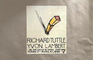 Richard Tuttle / Galerie Lambert Paris 1990