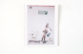 Jean M. Basquiat / Galerie Hans Mayer Düsseldorf 1988 - Invitation -