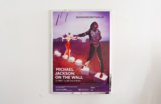 MICHAEL JACKSON Exhibition Poster