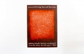 Bernd Berner / Galerie Falazik Bochum 1962