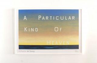 Ed Ruscha / PARTICULAR KIND OF HEAVEN