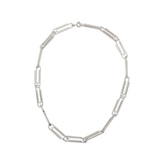 MULTI PAPERCLIP SHORT NECKLACE