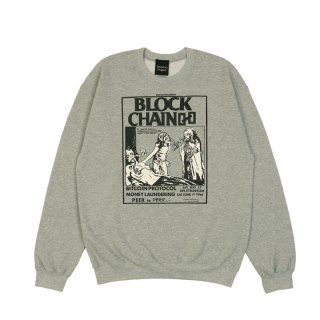 BLOCK CHAIN CREW NECK