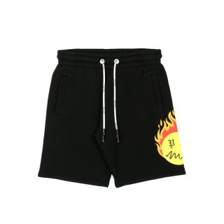 BURNING HEAD SWEATSHORTS