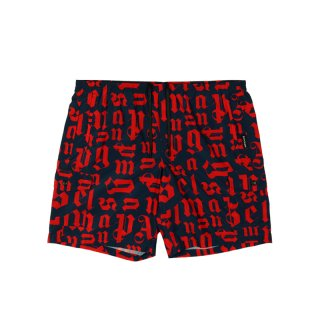 BROKEN MONOGRAM SWIM SHORT