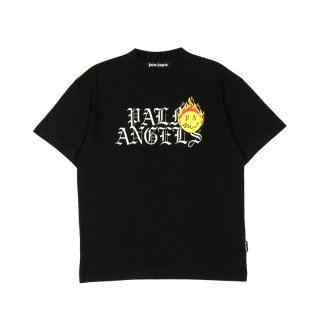 BURNING HEAD LOGO TEE