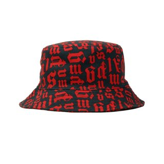 BROKEN MONOGRAM BUCKET HAT