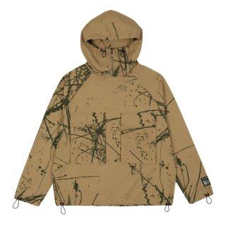 BRUSHED COTTON CANVAS ANORAK