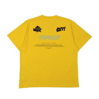OFF BLUR LOGO S/S OVER TEE
