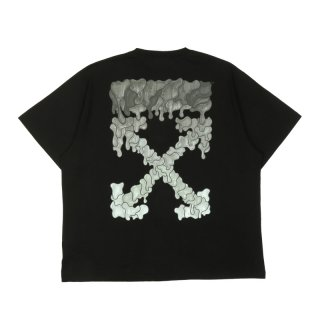 BLACK MARKER S/S OVER TEE