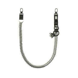 KNOT CRAFT TROUSERS STRAP SILVER