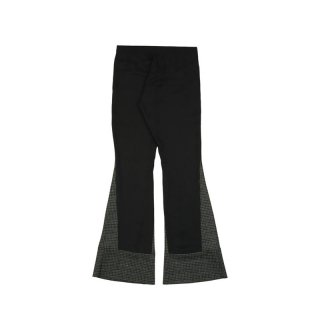 FLARED JOGGING WITH WOOL INSERTS