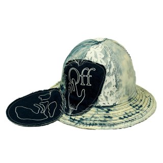 EV DENIM POCKET BUCKET HAT