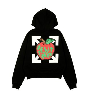 APPLE OVER FLATLOCK HOODIE