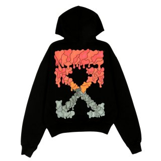 RED MARKER OVER HOODIE